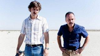 La isla mínima: Raúl Arévalo e Javier Gutiérrez in una scena del film