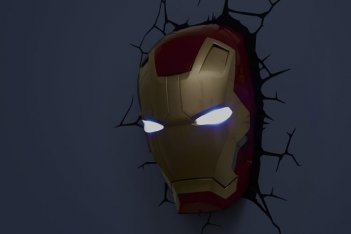 Natale 2015: Top 10 regali da supereroi, Wall Art Iron Man