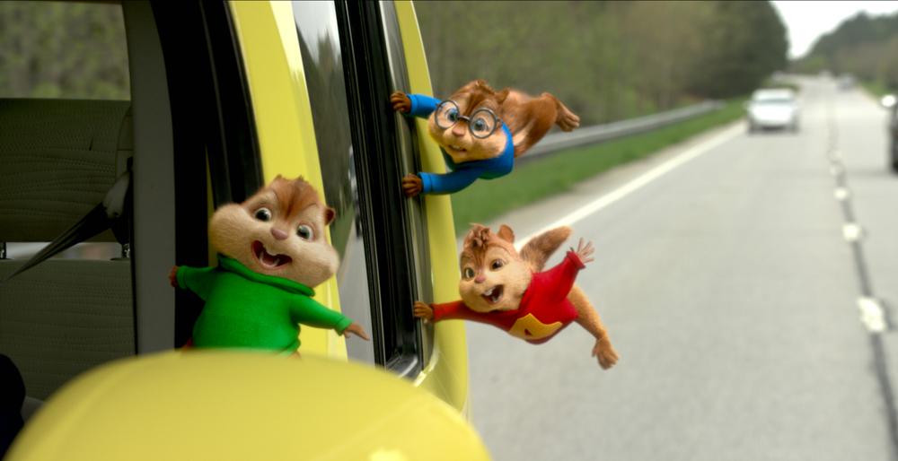 Alvin Superstar: Nessuno ci può fermare, un'immagine tratta dal film animato