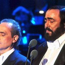Pavarotti - Il concerto di Natale: José Carreras e Luciano Pavarotti insieme sul palco