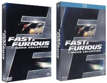 le cover di fast & Furious 7-movie Collection