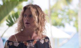 Vacanze ai Caraibi: Angela Finocchiaro in una scena del film