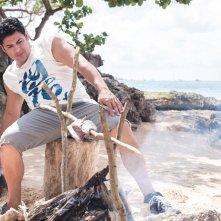 Vacanze ai Caraibi: Dario Bandiera in una scena del film