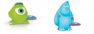 Monsters & Co: le luci notturne di Mike e Sully