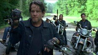The Walking Dead: il gruppo di Negan in una foto del prologo della nona puntata