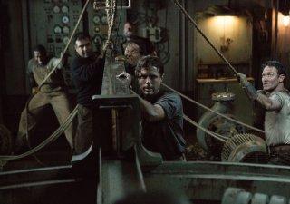 The Finest Hours: Casey Affleck in una scena del film
