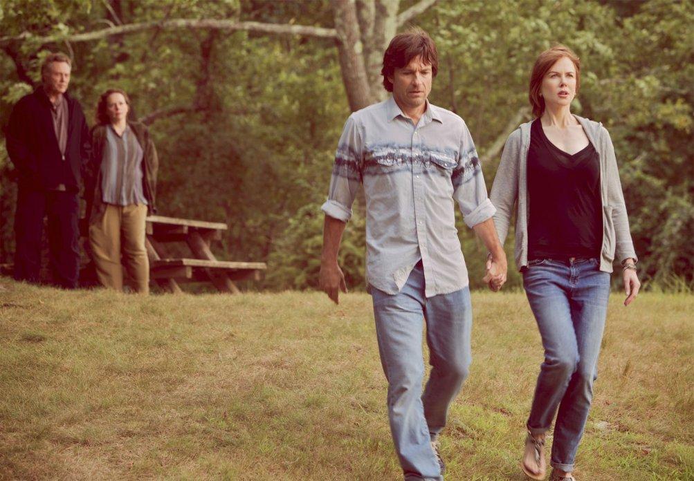 La famiglia Fang: Jason Bateman e Nicole Kidman (in primo piano) in una scena del film