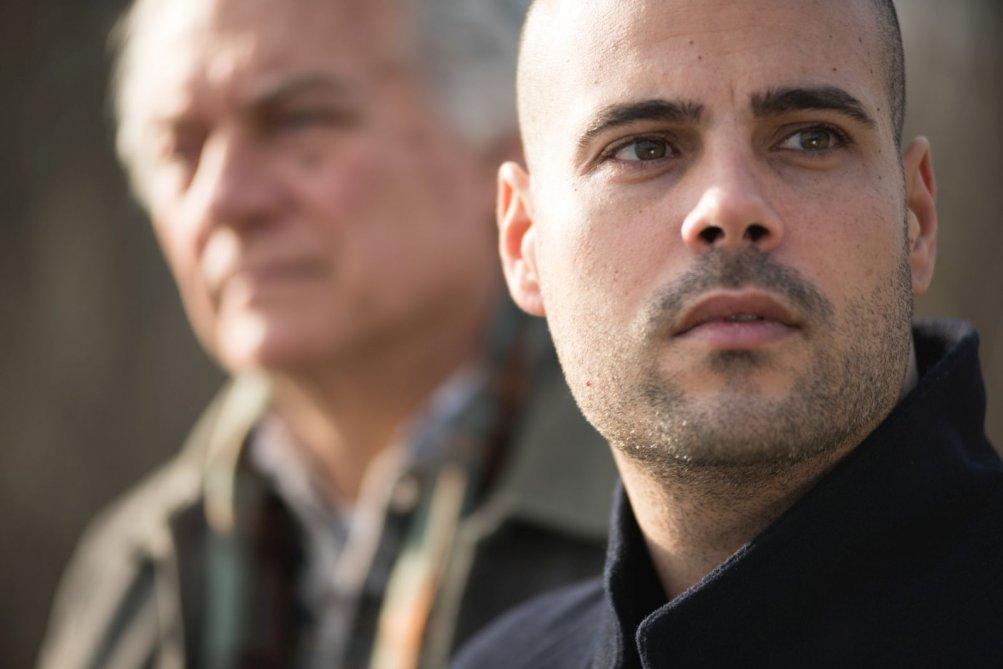 Un posto sicuro: Giorgio Colangeli e Marco D'Amore in una scena del film