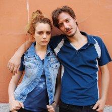 Caffè: Miriam Dalmazio e Dario Aita in un'immagine promozionale del film
