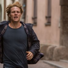 Point Break: Luke Bracey in una scena del film