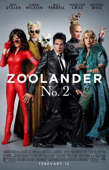 Zoolander 2: il nuovo poster del sequel della divertente commedia