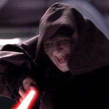 Star Wars - Episodio III: Palpatine in una scena