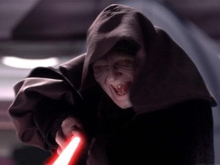 Star Wars - Episodio III: Palpatine in una scena