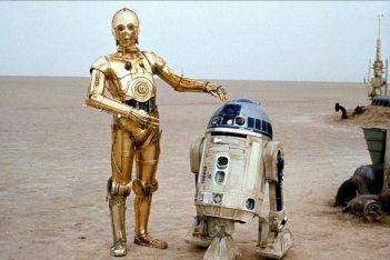 R2D2 e C-3PO in Guerre stellari