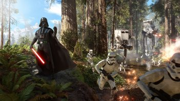 Star Wars Battlefront: Darth Vader in azione