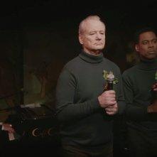 A Very Murray Christmas: Bill Murray e Chris Tucker in una foto dello speciale