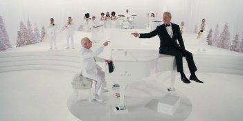 A Very Murray Christmas: Paul Schaffer e Bill Murray al pianoforte