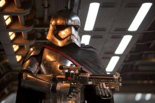 Star Wars: Il risveglio della forza, una scena del film
