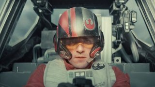 Star Wars: Il risveglio della forza, Oscar Isaac in una scena del film