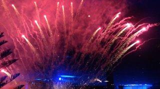 Sorrento: fuochi d'artificio alle giornate professionali del cinema