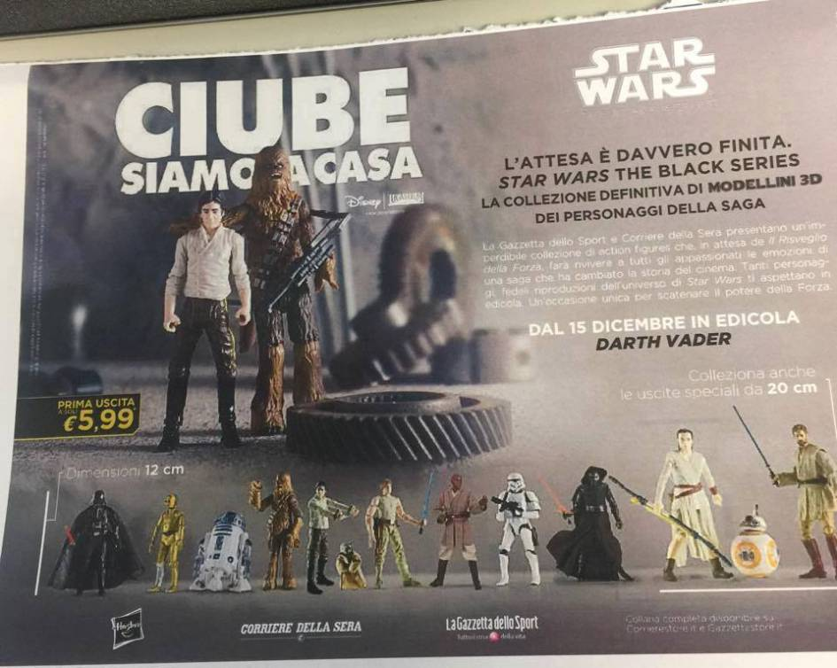 Star Wars: le action figures