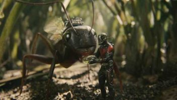 Una scena di Ant-Man