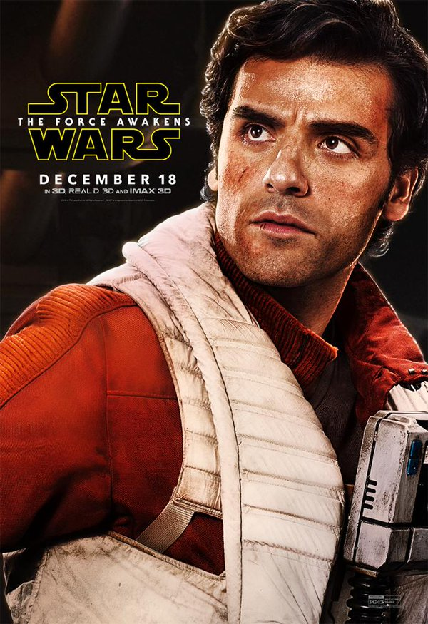 Star Wars: Il Risveglio della Forza - Il character poster di Poe Dameron