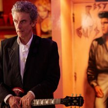 Doctor Who: il protagonista Peter Capaldi nel season finale Hell Bent