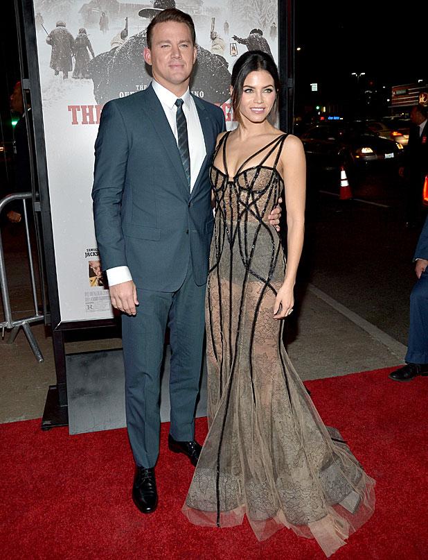 The Hateful Eight: Channing Tatum e la moglie Jenna Dewan-Tatum