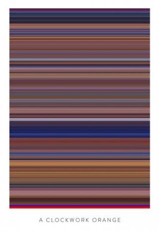 I colori di Arancia Meccanica