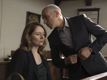 Homeland: Mark Ivanir e Miranda Otto nell'episodio All About Allison