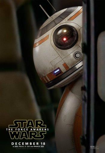 Star Wars: Il Risveglio della Forza - Il character poster di BB-8