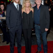 The Hateful Eight: Kurt Russell alla premiere col figlio Wyatt Russell e Goldie Hawn