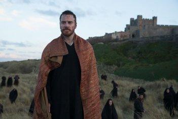 Macbeth: Michael Fassbender in una scena del film