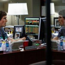 La grande scommessa: Christian Bale in una scena del film
