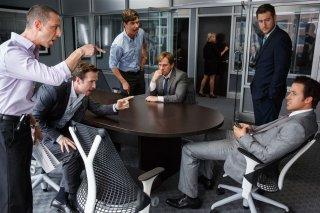 La grande scommessa: Steve Carell e Ryan Gosling in una scena del film