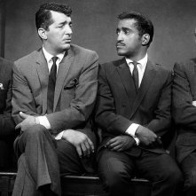 Il rat pack: Frank Sinatra, Sammy Davis e Dean Martin