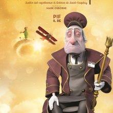 Il Piccolo Principe: il character poster del Re, doppiato da PIF