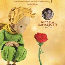 Il Piccolo Principe: il character poster della Rosa, doppiata da Micaela Ramazzotti