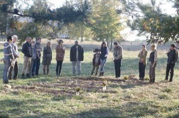The Walking Dead: una scena collettiva dell'episodio Il giustiziere