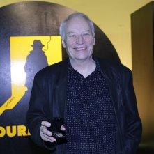 Joe R. Lansdale a Courmayeur 2015 con in mano il Raymond Chandler Award