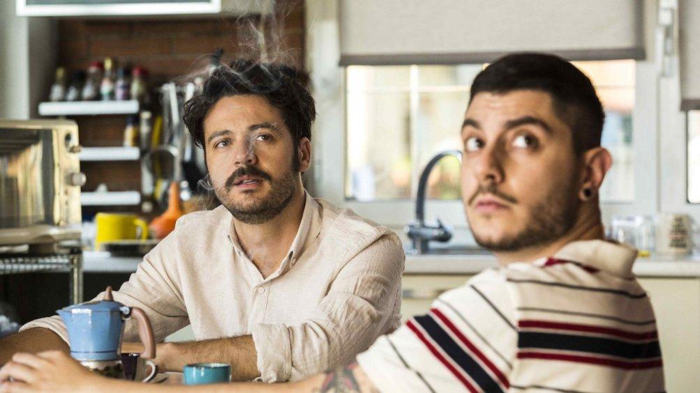 The Pills - Sempre meglio che lavorare: Luigi Di Capua e Matteo Corradini in una scena del film