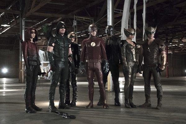 Arrow: un'immagine tratta da Legends of Yesterday