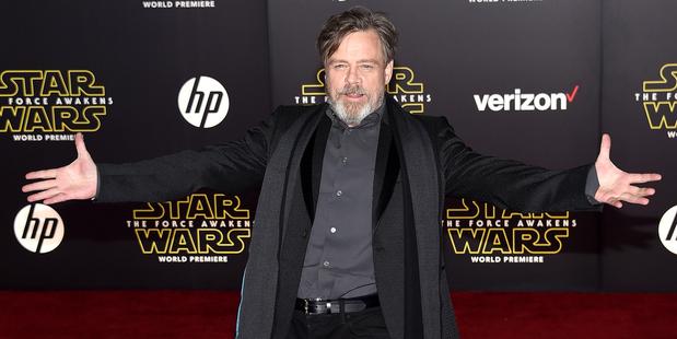Star Wars: il risveglio della forza - Mark Hamill saluta i fan alla premiere