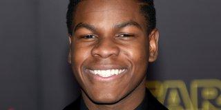 Star Wars: il risveglio della forza - Un primo piano di John Boyega alla premiere