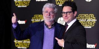 Star Wars: il risveglio della forza - J.J. Abrams e George Lucas alla premiere