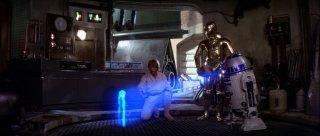Guerre Stellari: Luke Skywalker scopre l'ologramma di Leia
