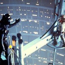 David Prowse e Mark Hamill in una scena de L'impero colpisce ancora