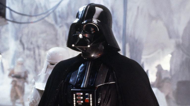 Darth Vader in un momento di Star Wars