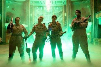 Ghostbusters: Kristen Wiig, Melissa McCarthy, Leslie Jones e Kate McKinnon nella prima foto di scena!